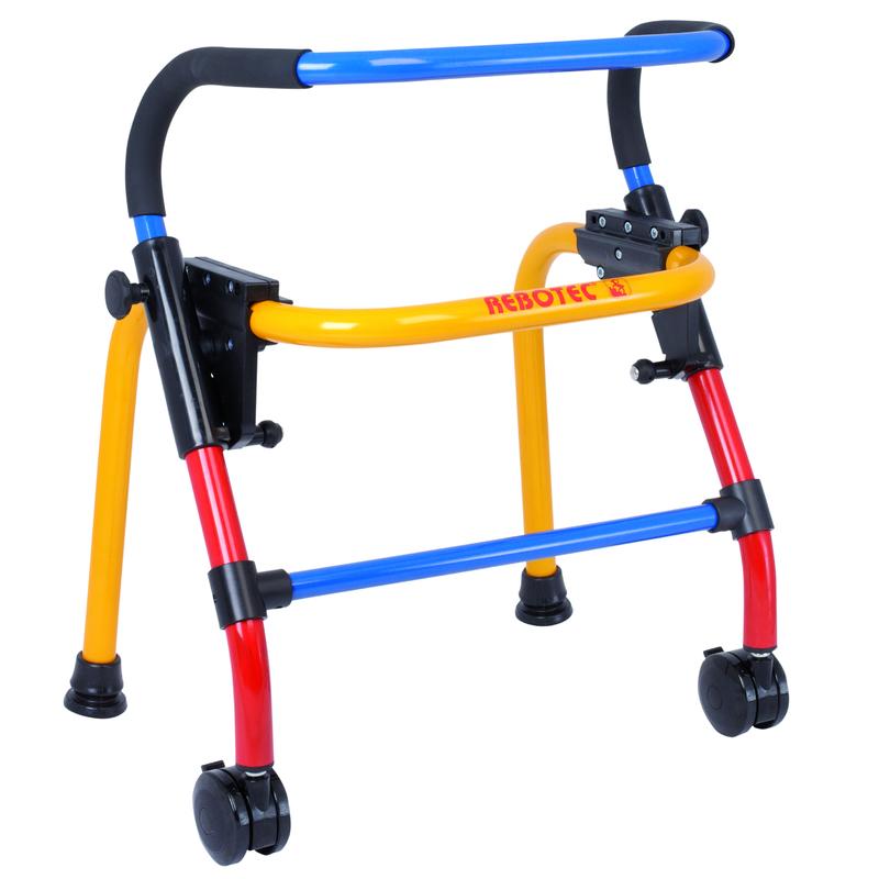 Ходунки для детей Rebotec Вок-он (на колесах) размер XS (высота 60.5 - 69 см), REBOTEC Rehabilitationsmittel GmbH, разноцветные, алюминий  - купить со скидкой