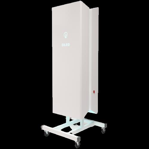 Бактерицидный рециркулятор Siled SLD-UV-MED-900 (до 900 м³/ч) черного цвета  - купить со скидкой