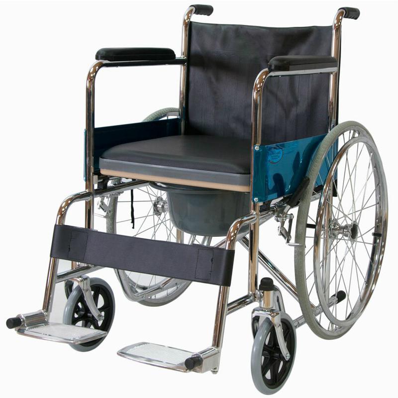 Купить Кресло-коляска с санитарным оснащением Мега-Оптим FS681
