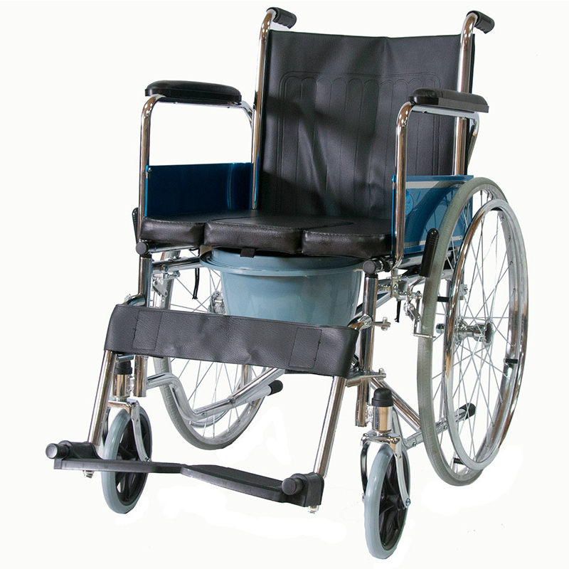 Купить Кресло-коляска с санитарным оснащением Мега-Оптим FS682
