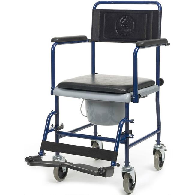 Купить Кресло-каталка с санитарным оснащением Vermeiren 139В, черный