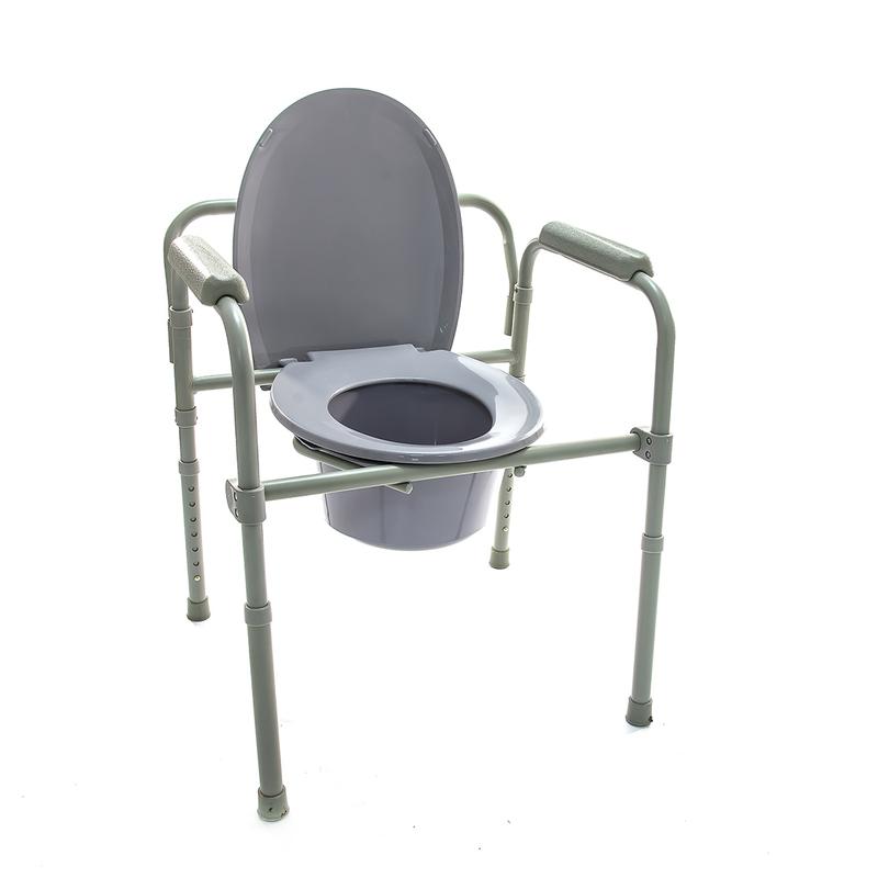Купить Кресло-туалет для инвалидов и пожилых людей Мега-Оптим HMP-7210 A