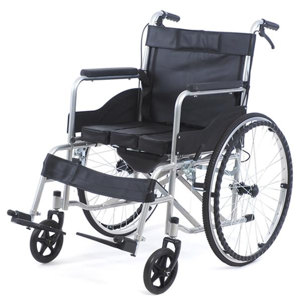Купить Кресло-коляска с санитарным оснащением MET 875, МЕТ (Китай)