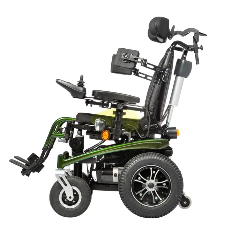 Купить Детская кресло-коляска с электроприводом Ortonica Pulse 470 36 размер, алюминий