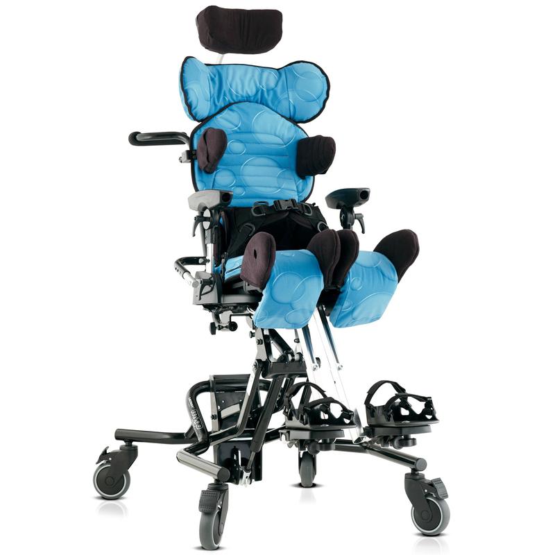 Купить Ортопедическое функциональное кресло для детей с ДЦП и инвалидов Otto Bock Майгоу Размер 1 синий / Комплект 1, Otto Bock HealthCare GmbH, голубой / оранжевый