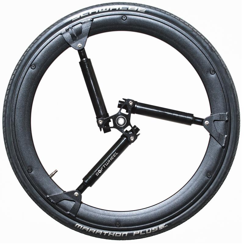 Амортизирующие колеса SoftWheel версия 2.75 / алюминиевый диск, SoftWheel LTD  - купить со скидкой