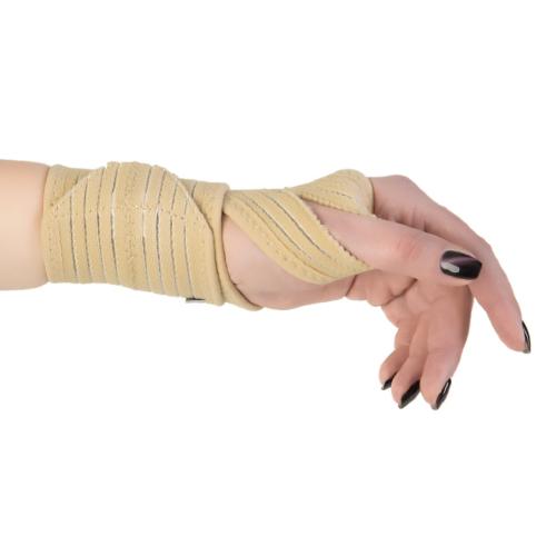 Купить Бандаж на лучезапястный сустав B.Well rehab W-244 бежевый размер универсальный, B.Well, Ltd.