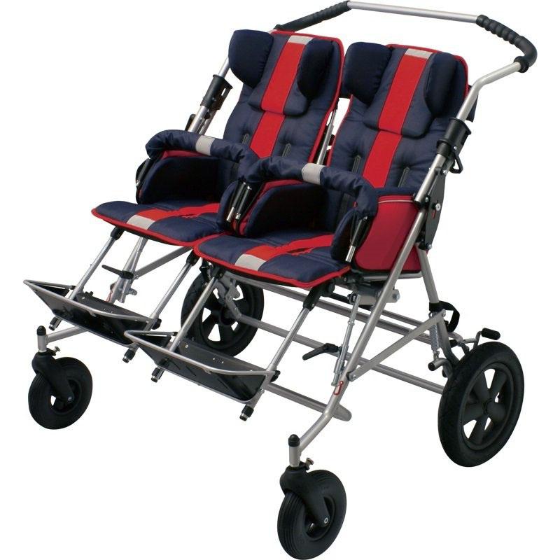 Купить Кресло-коляска двойная прогулочная для детей с ДЦП Patron Tom 4 Xcountry Duo STD/STD, Patron Bohemia a.s