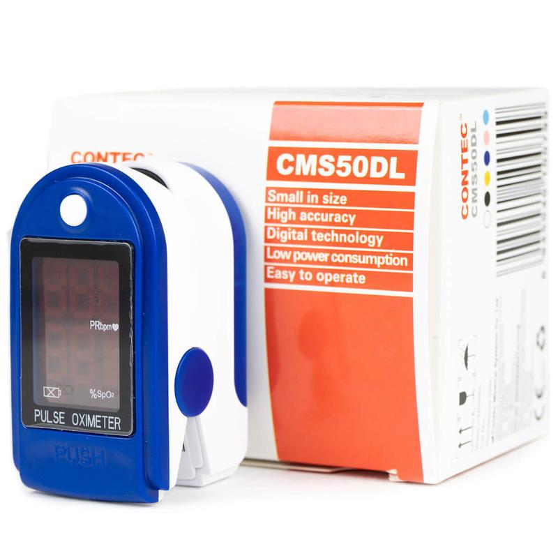 Купить Пальчиковый пульсоксиметр CMS 50DL с поверкой, Contec Medical Systems