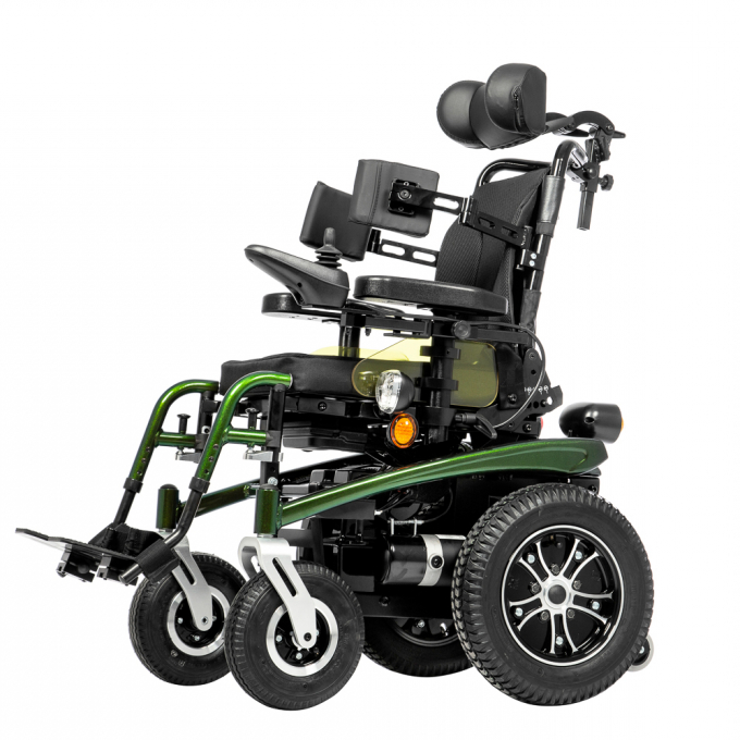 Купить Детская кресло-коляска с электроприводом Ortonica Pulse 410 30 размер, алюминий