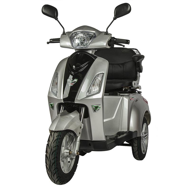 Купить Электрический скутер для пожилых людей и инвалидов Volteco Trike 1000W с АКБ 60V 32Ah (литиевый)
