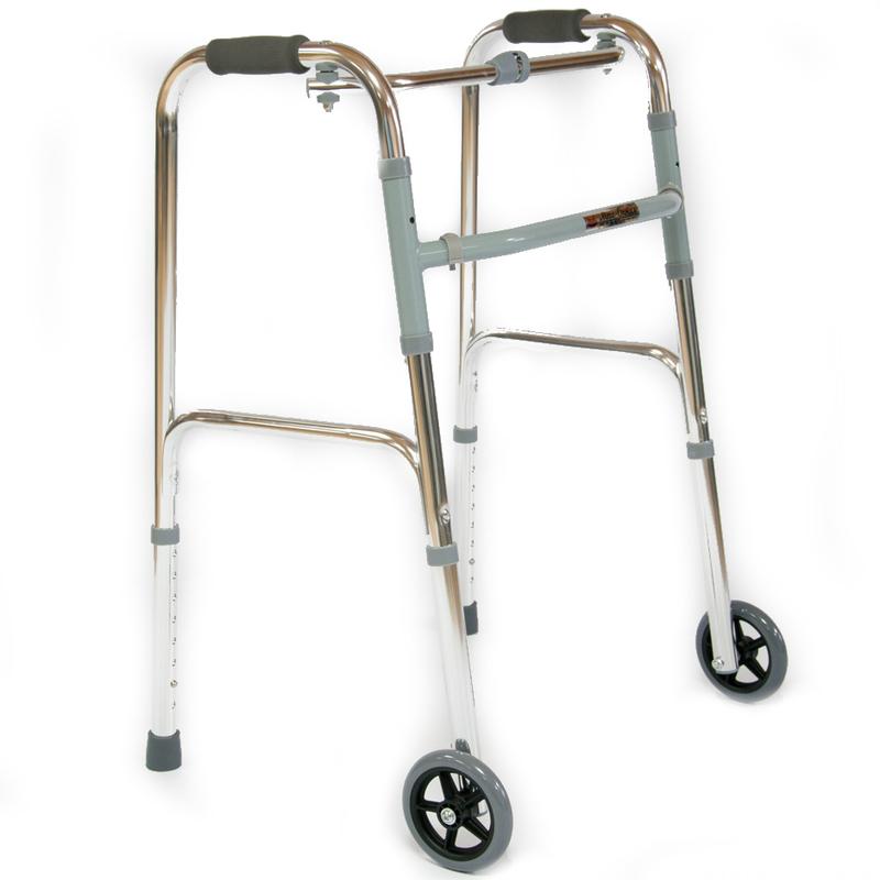 Купить Ходунки для пожилых людей и инвалидов Мега-Оптим FS9125L, алюминий