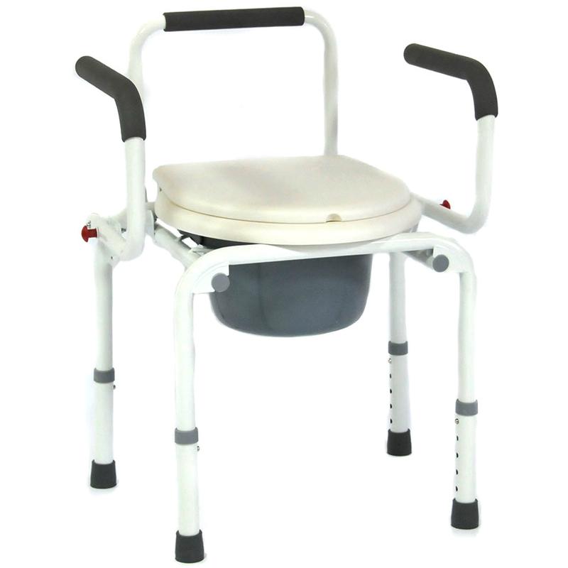 Купить Кресло-туалет для инвалидов и пожилых людей Мега-Оптим FS813