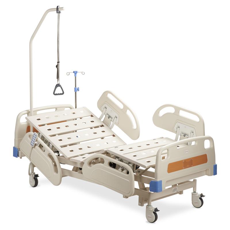 Купить Медицинская электрическая кровать Армед SAE-300, АРМЕД (Китай), каркас и ножки - высокопрочная сталь, стальные ламели, пластиковые боковые ограждения, спинки - ABC пластик