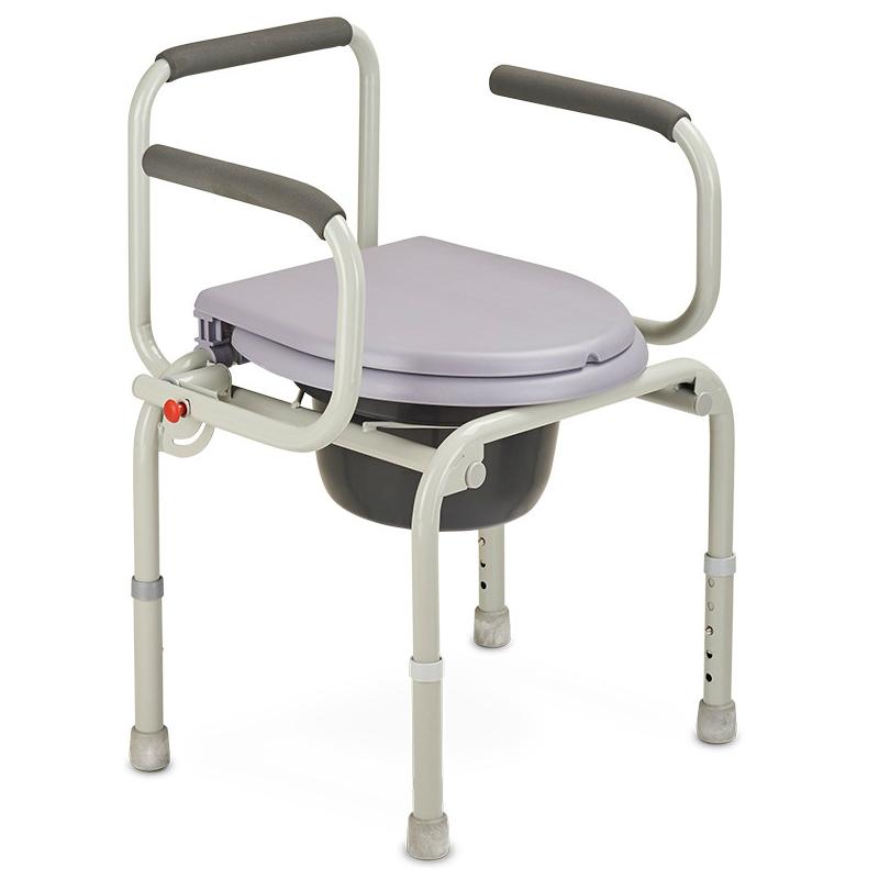 Купить Кресло-туалет для инвалидов и пожилых людей Армед ФС813 (производство РФ), АРМЕД (Россия)