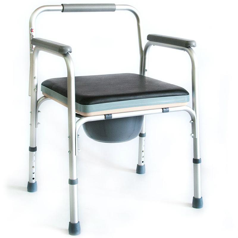 Купить Кресло-туалет для инвалидов и пожилых людей Мега-Оптим FS895L