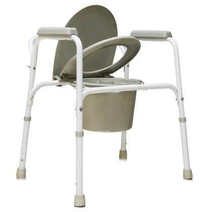 Купить Кресло-туалет для инвалидов и пожилых людей АМСВ6803, Amrus Enterprises, Ltd.