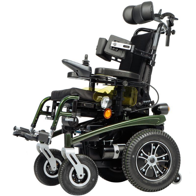 Детская кресло-коляска с электроприводом Ortonica Pulse 450 36 размер  - купить со скидкой