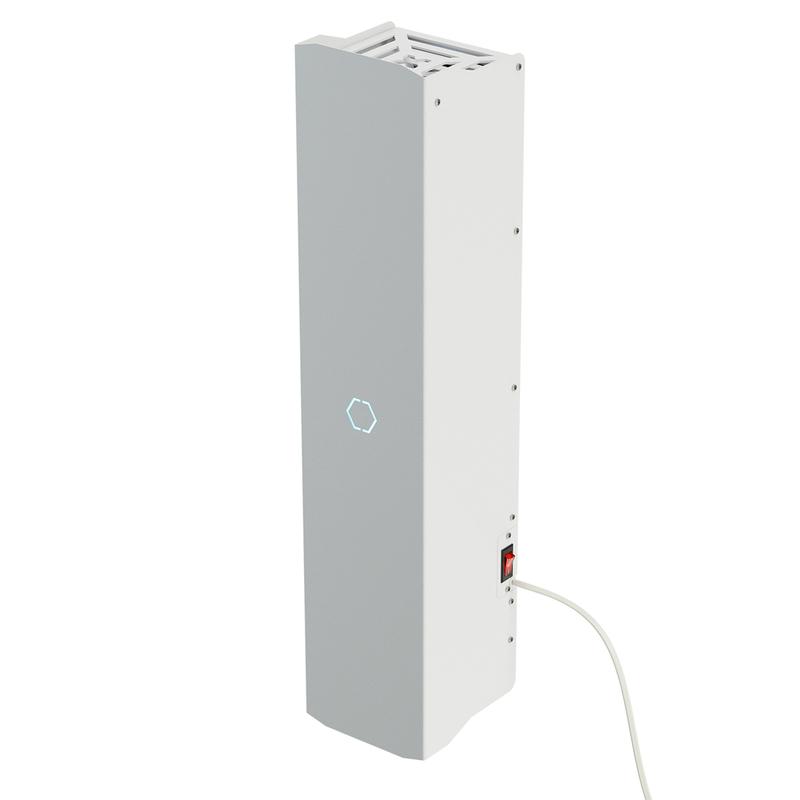 Купить Бактерицидный рециркулятор ОВУ-03-T Солнечный Бриз-3 (до 140 м³/ч) без счетчика наработки ламп, РЭМО