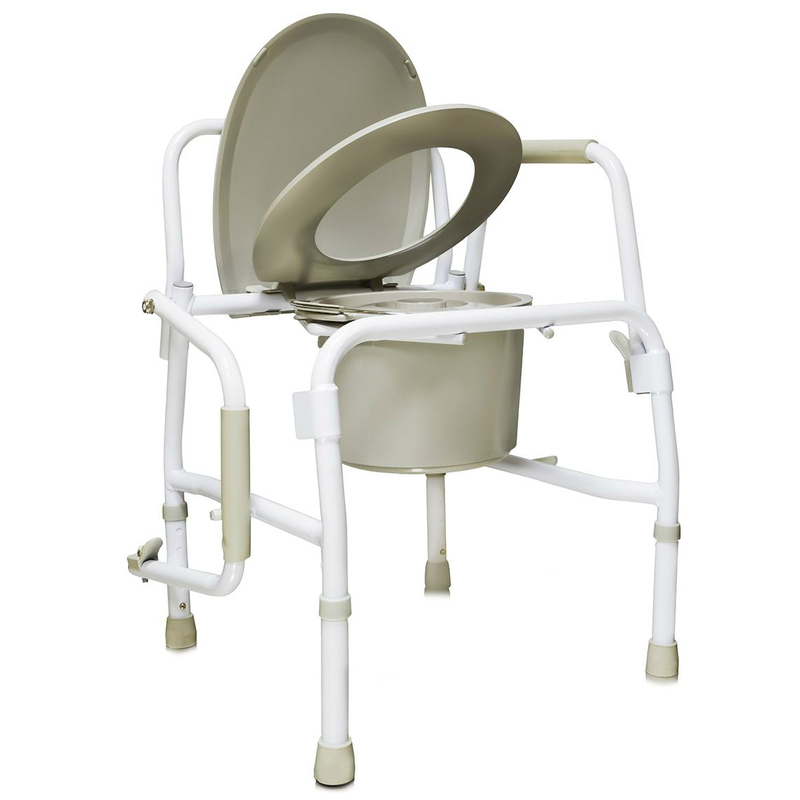 Купить Кресло-туалет для инвалидов и пожилых людей AMCB6807, Amrus Enterprises, Ltd.