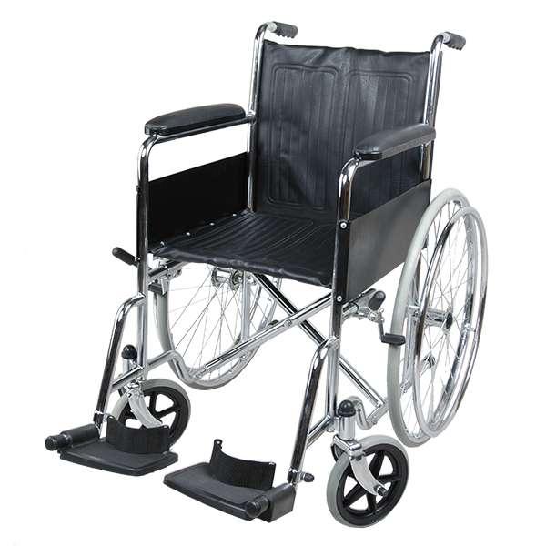 Купить Кресло-коляска для инвалидов Barry B1, Valentine International, сталь