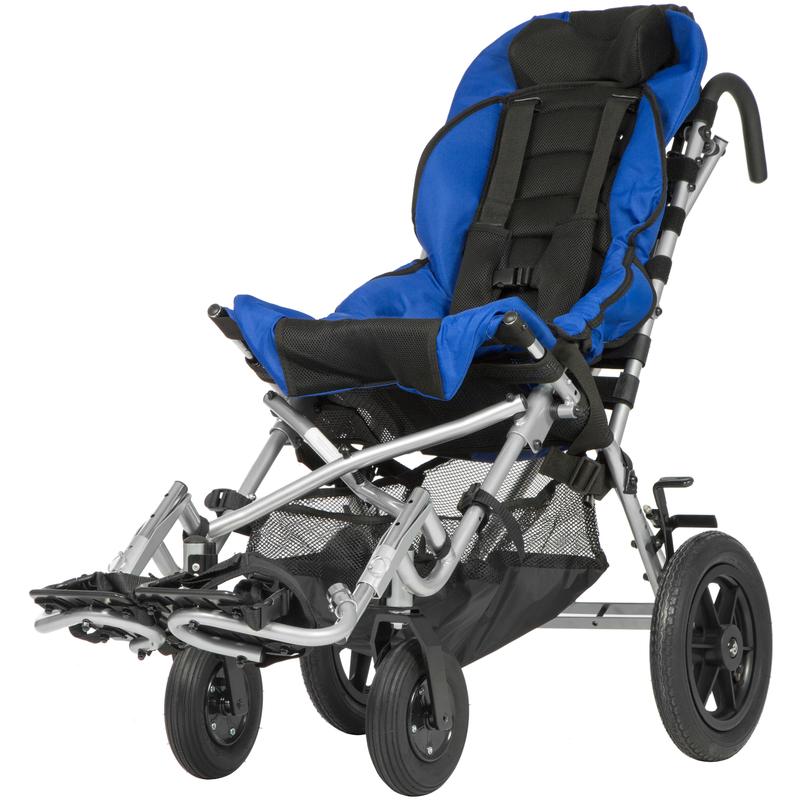 Купить Кресло-коляска для детей с ДЦП Ortonica Kitty 36 размер, синий / черный