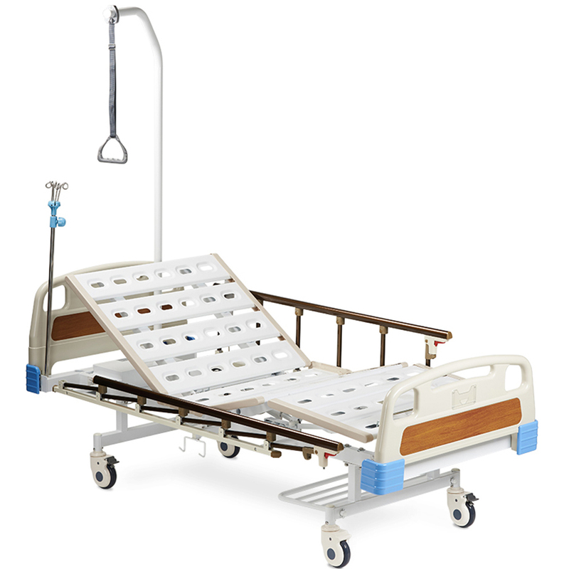 Купить Кровать функциональная Армед SAE-301, АРМЕД (Китай), каркас и ножки - высокопрочная сталь, стальные ламели, спинки - ABC пластик, боковые ограждения из алюминия
