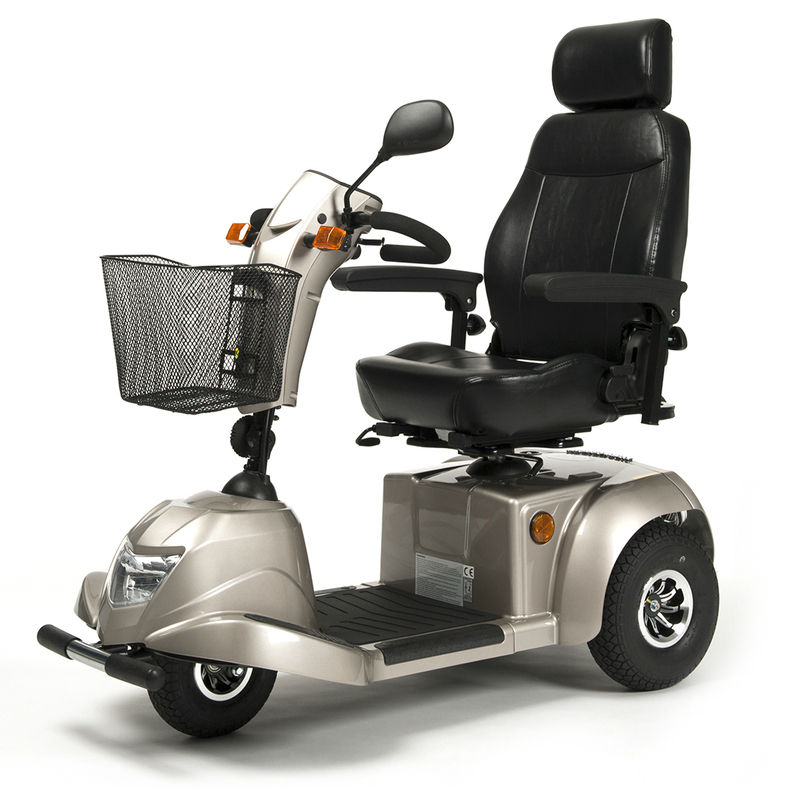 Купить Электрический скутер для инвалидов Vermeiren Ceres 3, синий / черный