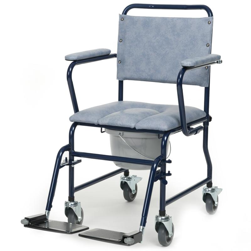 Купить Кресло-каталка с санитарным оснащением Vermeiren 9139, серый