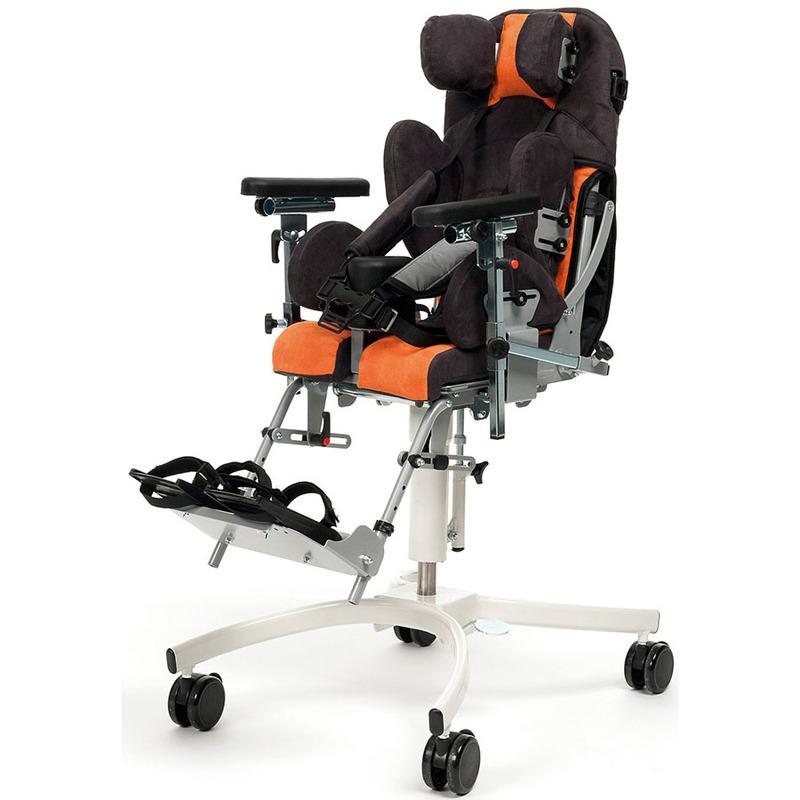Купить Кресло-коляска комнатная для детей с ДЦП Vermeiren Gemini 2, оранжевый