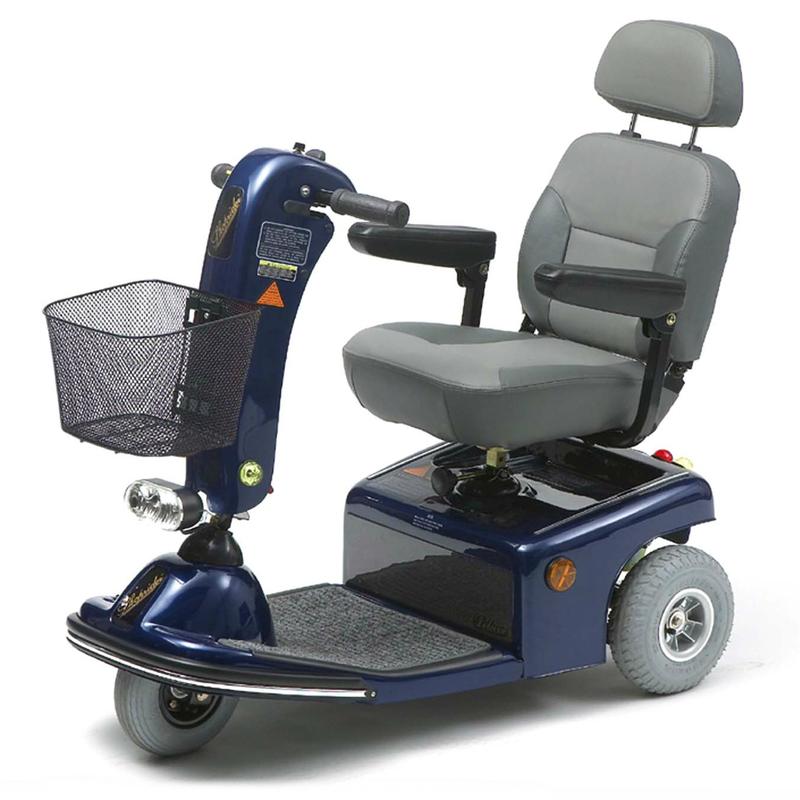 Купить Электрический скутер для инвалидов Vermeiren Saturnus 3, синий, черный, серый