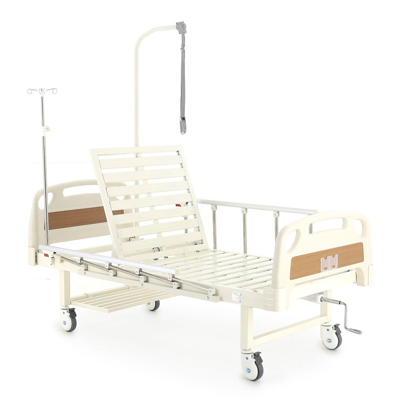 Купить Медицинская механическая кровать Med-Mos E-17B (ММ-1014Н-00), сталь, пластик, ЛДСП