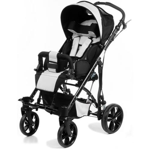 Кресло-коляска прогулочная для детей с ДЦП Vitea Care Junior Plus зеленая / пневмо колеса  - купить со скидкой