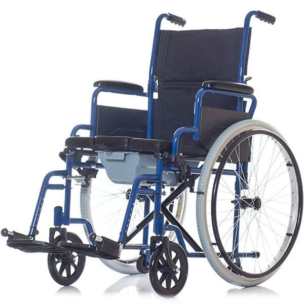 Купить Кресло-коляска с санитарным оснащением Ortonica TU 55, черный