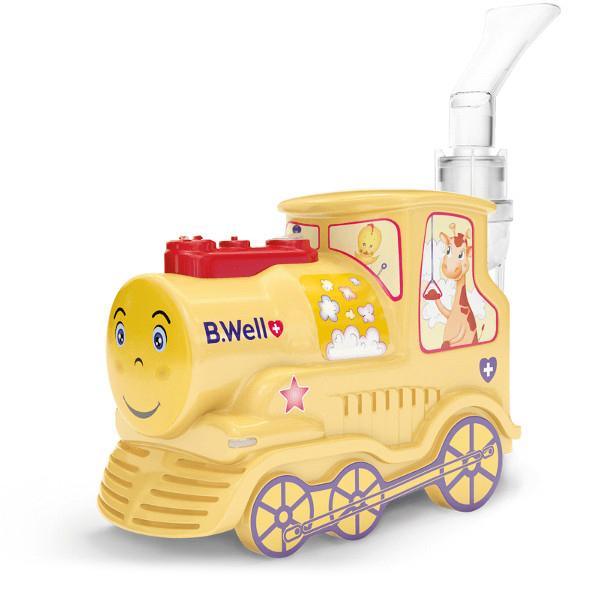 Купить Компрессорный детский ингалятор - небулайзер B.Well PRO-115 Паровозик , B.Well, Ltd.