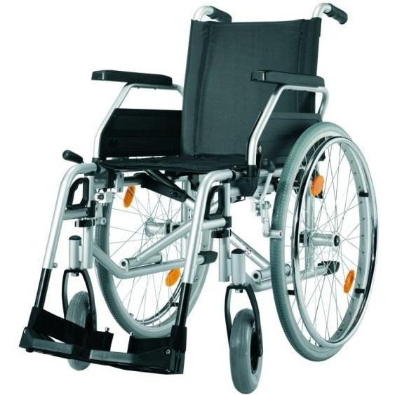 Кресло-коляска для инвалидов механическая Titan LY-170-1350 (Pyro Start) 46 размер, Titan Deutschland GmbH, алюминий, нейлон, пластик  - купить со скидкой