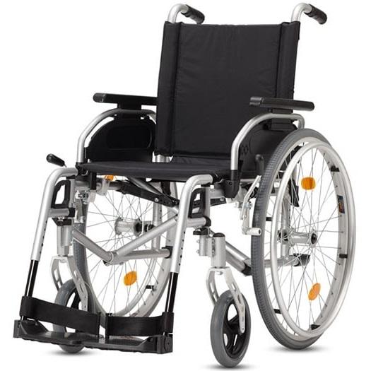 Купить Кресло-коляска для инвалидов механическая Titan LY-170-1352 (Pyro Start Plus) 49 размер, Titan Deutschland GmbH, алюминий, нейлон, пластик