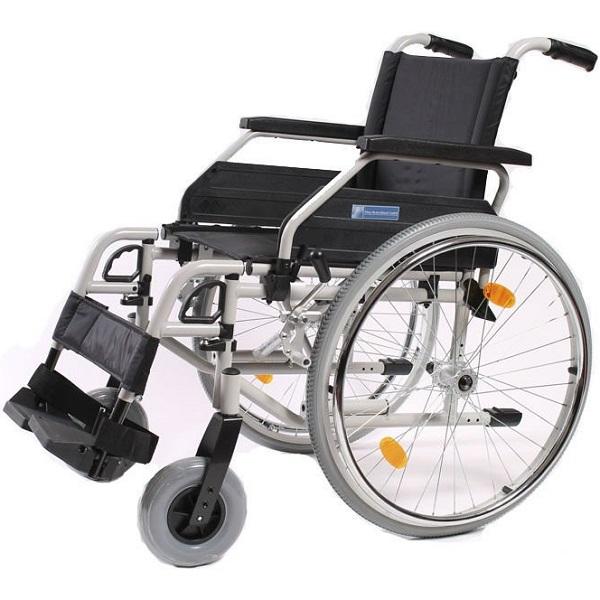 Купить Кресло-коляска для инвалидов механическая Titan LY-250-1031 (S-Eco 300) 52 размер, Titan Deutschland GmbH, алюминий, нейлон
