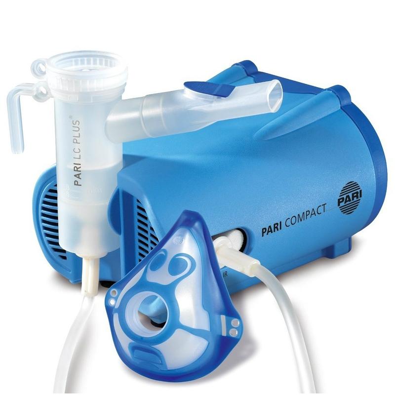 Купить Компрессорный ингалятор ПАРИ Компакт (Pari Compact) и небулайзер PARI LC Plus с детской маской, PARI GmbH