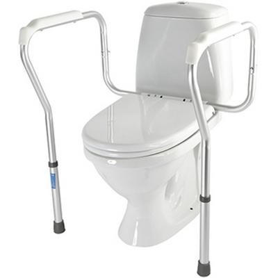 Купить Опорный поручень для туалета Valentine 10540, Valentine International, серебрянный, алюминиевый сплав, пластик