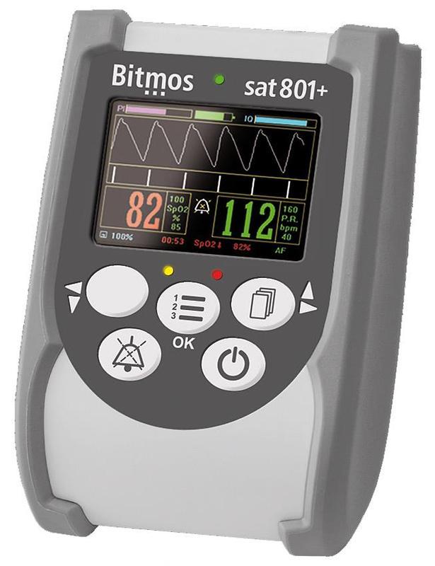 Купить Пульсоксиметр портативный Bitmos Sat 801+, Bitmos GmbH
