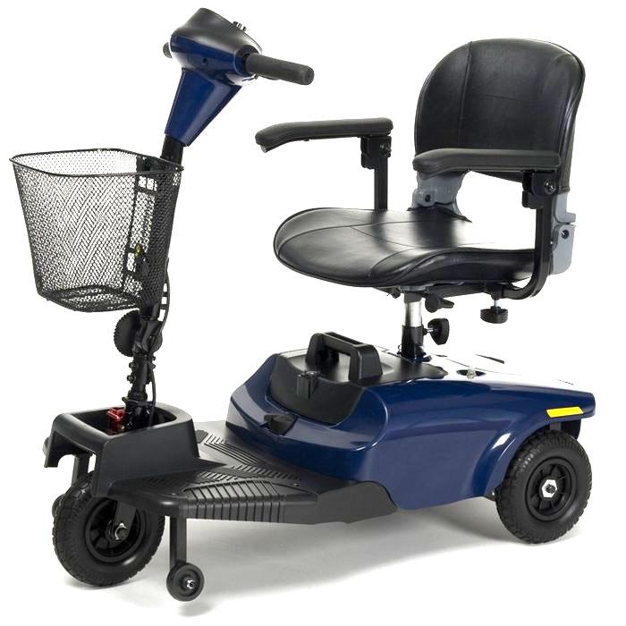 Электрический скутер для инвалидов Vermeiren Antares 3, синий, черный  - купить со скидкой