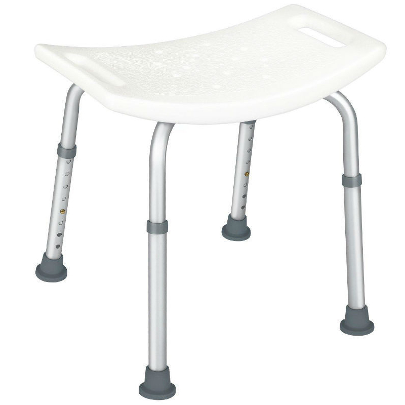 Купить Табурет для ванной комнаты Мега-Оптим KJT502, алюминий, пластик