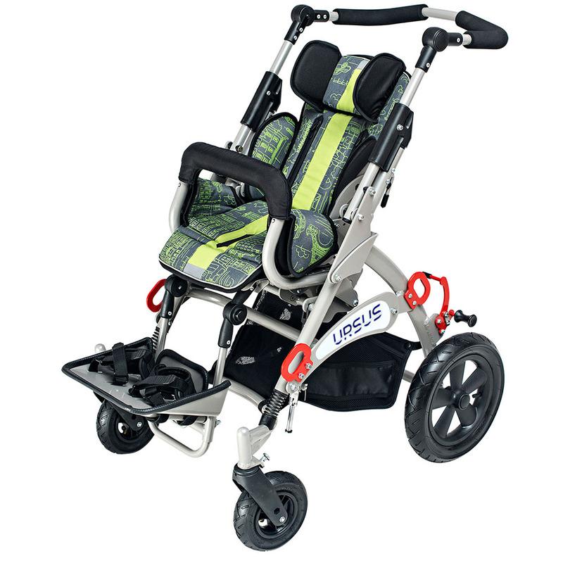 Купить Кресло-коляска прогулочная для детей с ДЦП Akcesmed Рейсер Урсус Rus Размер 3, Akces-MED Sp. z o.o.